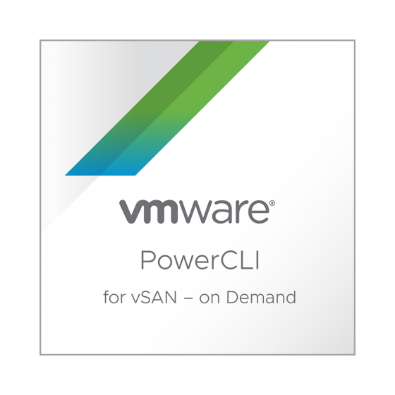 VMware PowerCLI for vSAN - On Demand